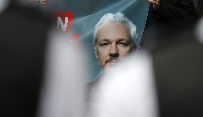 Τζούλιαν Ασάνζ, ιδρυτής του WikiLeaks