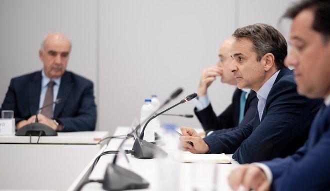 Συνεδρίαση των Τομεαρχών της Νέας Δημοκρατίας
