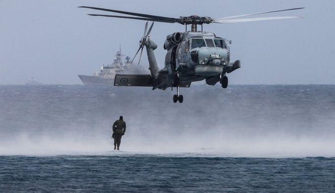 """Εικόνα από την στρατιωτική άσκηση """"Παρμενίων 2019"""""""