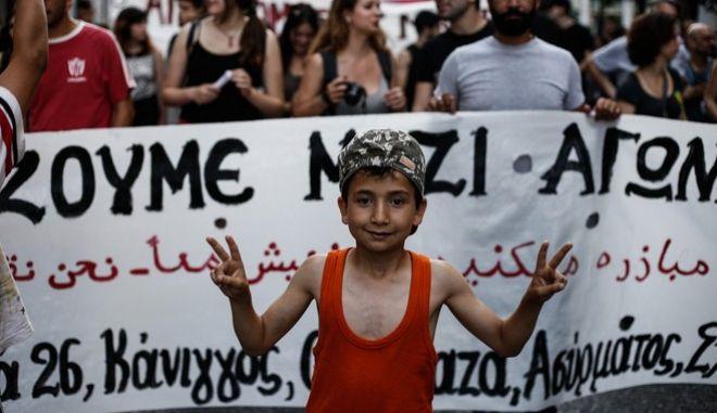 Η διάθεση των πολιτών της Αθήνας για τους πρόσφυγες