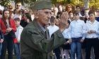 """Συγκίνησε 90χρονος Πόντιος αντάρτης: """"Τιμή σε όσους πολέμησαν τον φασισμό και τη ντόπια προδοσία"""""""