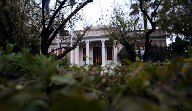 eeting of the Greek Prime Minister Antonis Samaras and members of the Troika, in Athens on March 13, 2013 /