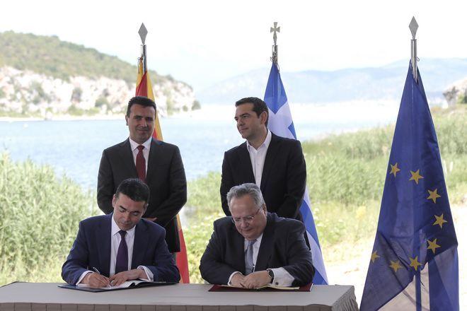 Από την υπογραφή της συμφωνίας των Πρεσπών