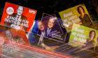 Αφίσες των τριών υποψηφίων των SPD, CDU και Πρασίνων στις βουλευτικές εκλογές στη Γερμανία