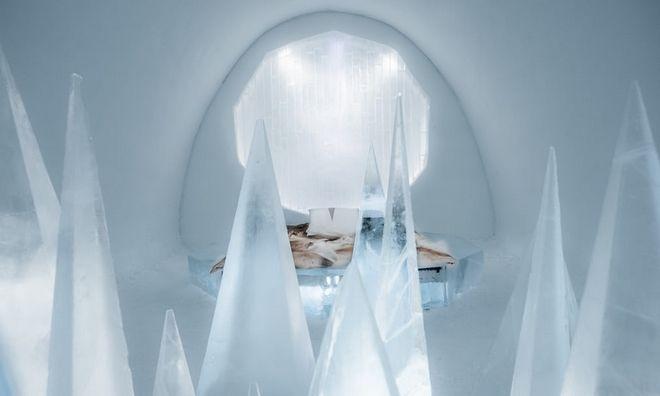 Το παγωμένο 'παλάτι' της Σουηδίας άνοιξε τις πύλες του