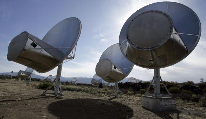 Δέκτες του Ινστιτούτου SETI για τον εντοπισμό εξωγήινων, Καλιφόρνια