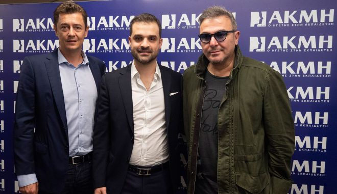 Ο Αντώνης Ρέμος σε debate με τους σπουδαστές του ΙΕΚ ΑΚΜΗ στην Θεσσαλονίκη