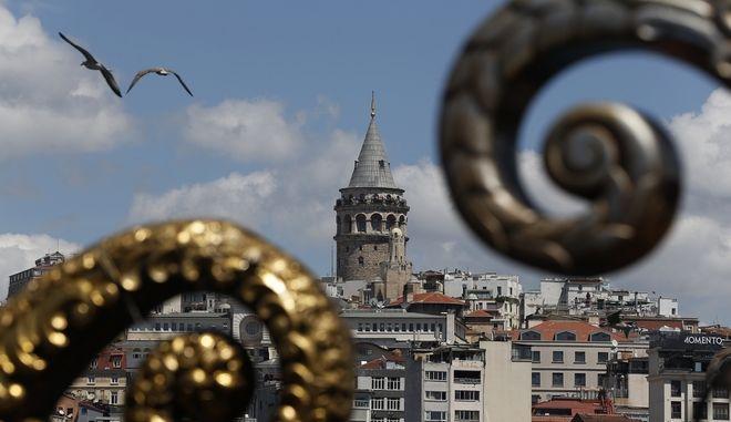 Ο Πύργος Γαλατά στην Κωνσταντινούπολη
