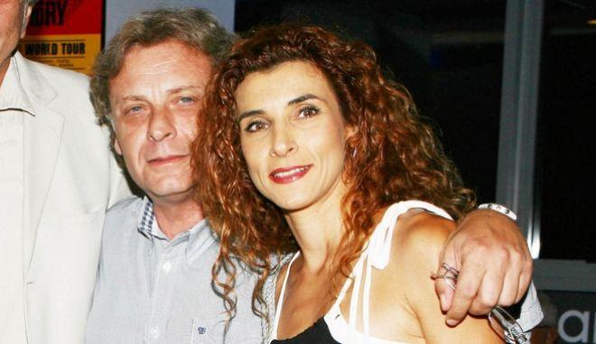 Τάσος Αλεξόπουλος και Μαρία Παπαλάμπρου