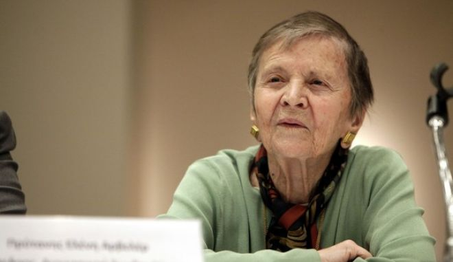 ΑΘΗΝΑ-Το  Ευρωπαϊκό Πολιτιστικό  Κέντρο Δελφών  ανακοίνωσε το το πρόγραμμα των θερινών εκδηλώσεων.Στη φωτογραφία η Πρόεδρος του Διοικητικού Συμβουλίου του  Ευρωπαϊκού Πολιτιστικού Κέντρου Δελφών Πρύτανης Ελένη Γλύκατζη-Αρβελέρ.(EUROKINISSI- ΓΕΩΡΓΙΑ ΠΑΝΑΓΟΠΟΥΛΟΥ)