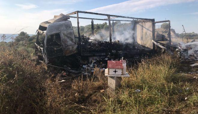 Τραγωδία στην Καβάλα: 11 νεκροί σε τροχαίο
