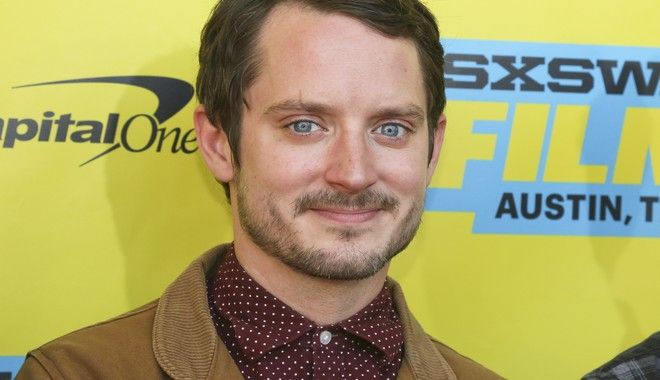 Elijah Wood is seen at the world premiere of his new film