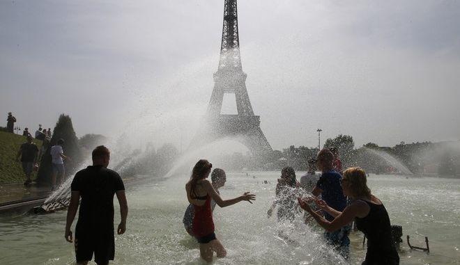 Καύσωνας στο Παρίσι τον Αύγουστο του 2018