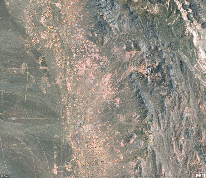 Πυρηνικές δοκιμές δημιούργησαν κρατήρες στη Νεβάδα και μοιάζει σαν την Σελήνη