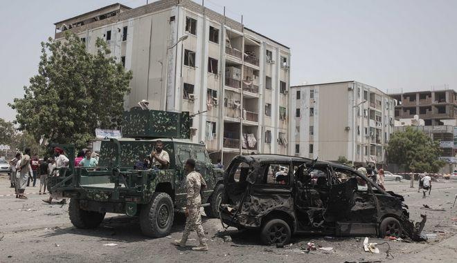 Από προηγούμενη επίθεση στην Υεμένη.