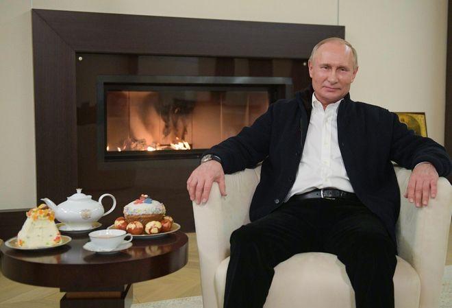 Οι ευχές του Πούτιν.