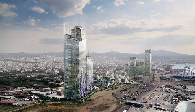 Σχεδιάζοντας τη νέα Δυτική Είσοδο της Θεσσαλονίκης, δημιουργώντας ένα νέο Επιχειρηματικό Κέντρο για την πόλη.