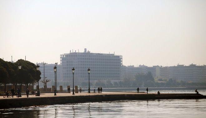 Η παραλία Θεσσαλονίκης