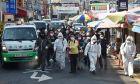 Απολύμανση στους δρόμους της Νότιας Κορέας