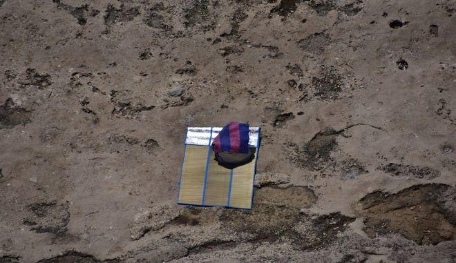 Στιγμιότυπο από την παραλία της Αρβανιτιάς στο Ναύπλιο