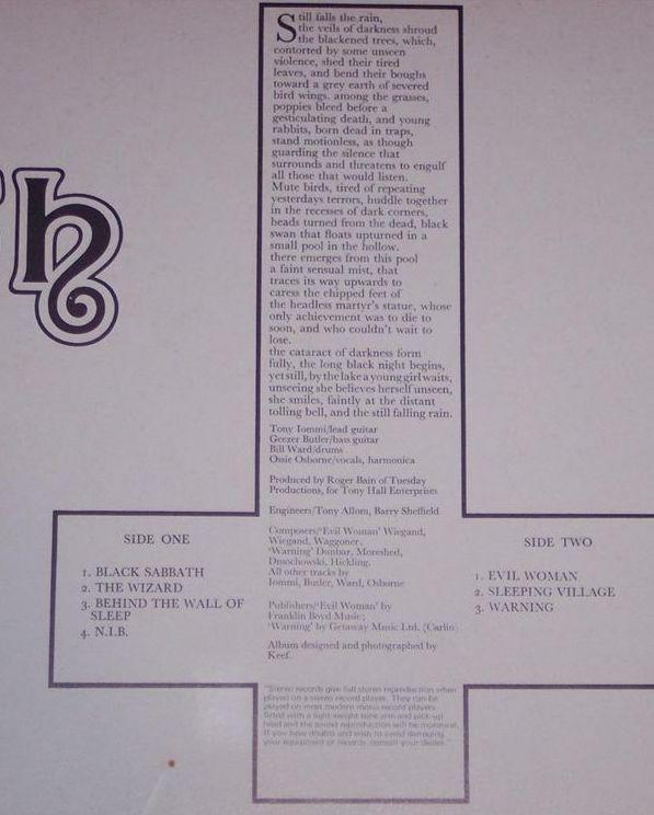 Black Sabbath: 5 πράγματα που πρέπει να ξέρεις για τον δίσκο που γέννησε τη μέταλ