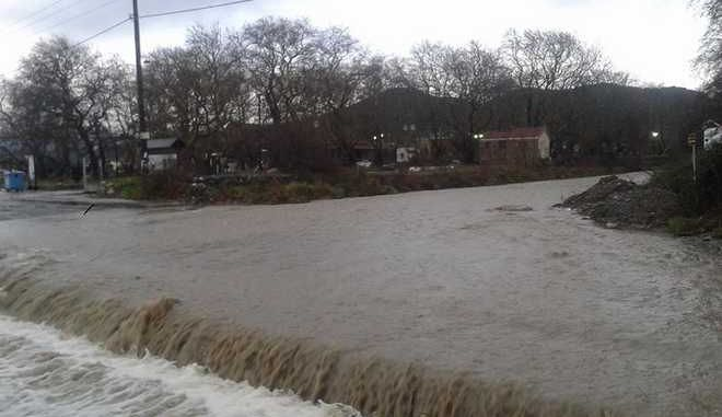 Λάρισα: Πλημμύρισαν σπίτια σε Αγιόκαμπο και Σωτηρίτσα