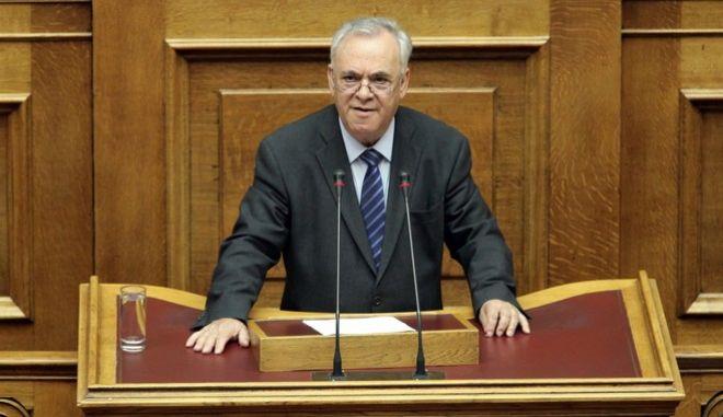 Ειδική Συνεδρίαση της Ολομέλειας της Βουλής, για τα 70 χρόνια της Ενσωμάτωσης της Δωδεκανήσου στην Ελλάδα την Τετάρτη 1 Μαρτίου 2017. (EUROKINISSI/ΓΙΑΝΝΗΣ ΠΑΝΑΓΟΠΟΥΛΟΣ)