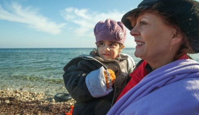 Η Σούζαν Σάραντον για το προσφυγικό: Η Ελλάδα έχει επωμιστεί μεγαλύτερο βάρος απ' όσο της αναλογεί