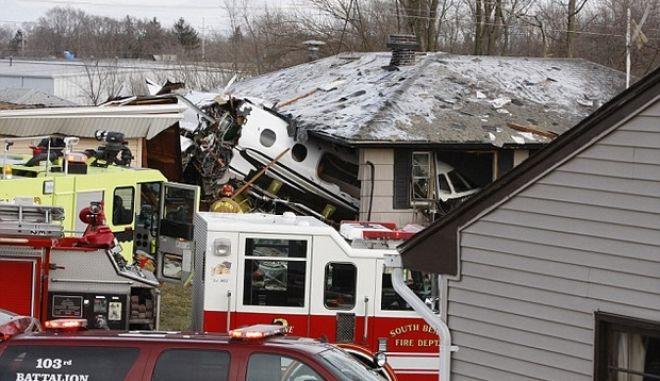 Δύο νεκροί από πτώση μικρού αεροσκάφους στην Ιντιάνα