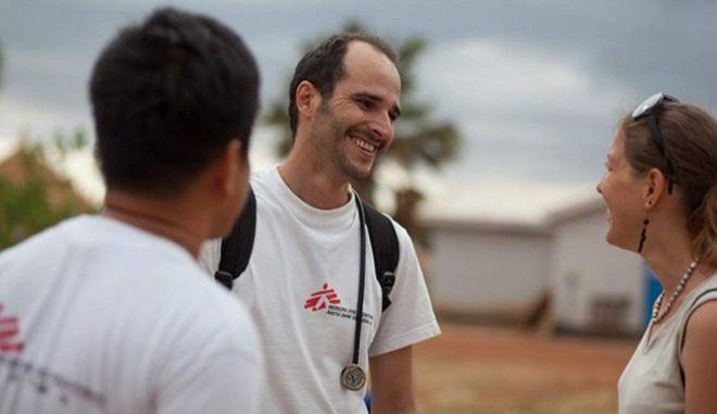 Χρήστος Χρήστου, νέος διεθνής πρόεδρος στους Γιατρούς Χωρίς Σύνορα