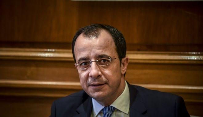 O υπουργός Εξωτερικών της Κύπρου Νίκος Χριστοδουλίδης