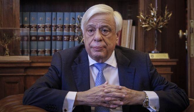 Ο Προέδρος της Δημοκρατίας Προκόπης Παυλόπουλος