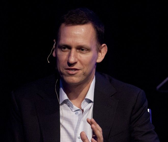 Ο πρόεδρος της Palantir, Peter Thiel