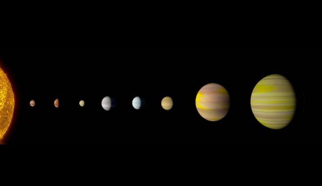 Σπουδαία ανακάλυψη της NASA: Βρέθηκε ηλιακό σύστημα όμοιο με το δικό μας