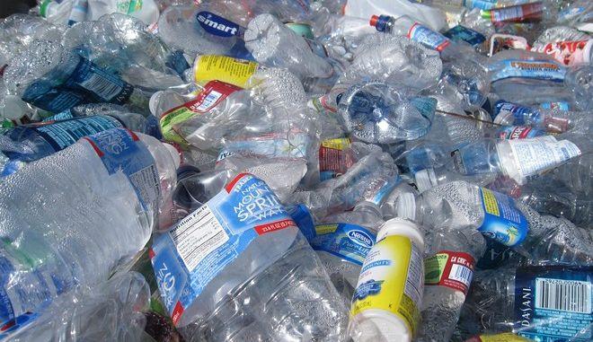 Πλαστικά μπουκάλια (φωτογραφία αρχείου)