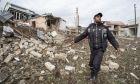 Καταστροφές μετά τις μάχες στο Ναγκόρνο - Καραμπάχ