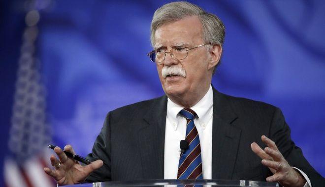 John Bolton ο σύμβουλος Εθνικής Ασφάλειας των ΗΠΑ
