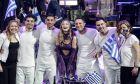 Η Stefania στον ημιτελικό της Eurovision
