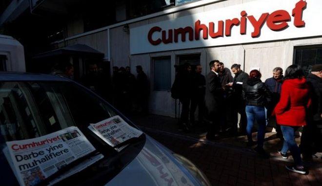 Τουρκία: Συνελήφθη ο πρόεδρος του διοικητικού συμβουλίου της εφημερίδας Cumhuriyet