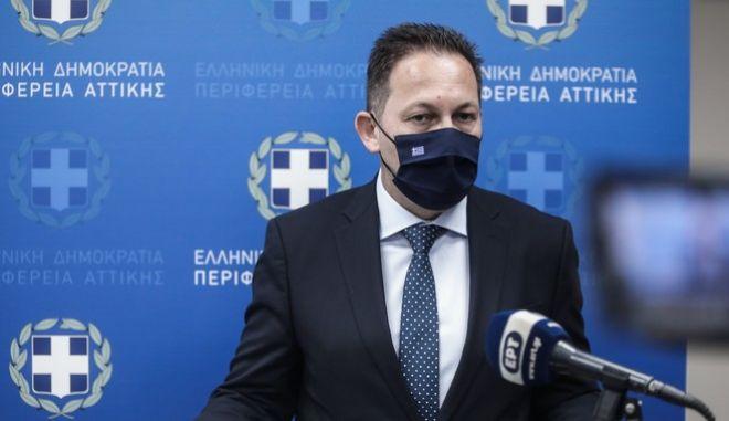 Ο αναπληρωτής υπουργός Εσωτερικών, Στέλιος Πέτσας