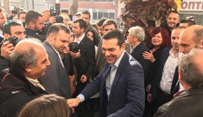 Στην Θεσσαλονίκη ο Τσίπρας για τα εγκαίνια της πρώτης ΤΟΜΥ