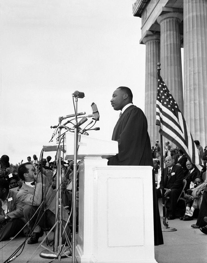 H ομιλία του Κινγκ στο Μνημείο του Λίνκολν το 1957