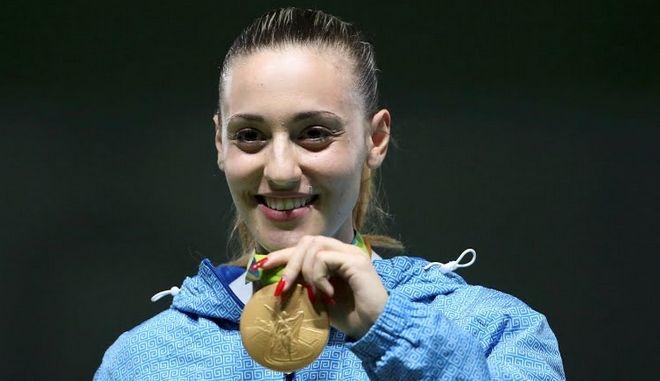 Η Σουρωτή στηρίζει την Ολυμπιονίκη Άννα Κορακάκη