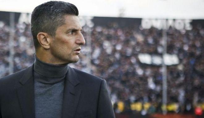 Ο προπονητής του ΠΑΟΚ Ραζβάν Λουτσέσκου