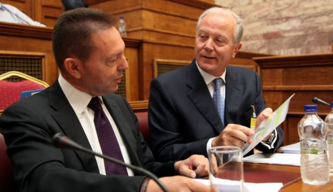 Συνεδρίαση της Διαρκούς Επιτροπής Οικονομικών Υποθέσεων, με θέμα ημερήσιας διάταξης: Συζήτηση, σύμφωνα με το άρθρο 32 παρ.6 του Κ.τ.Β., για τις πρόσφατες εξελίξεις σχετικά με την Αγροτική Τράπεζα της Ελλάδος, Παρασκευή 3 Αυγ. 2012. (EUROKINISSI/ΓΙΑΝΝΗΣ ΠΑΝΑΓΟΠΟΥΛΟΣ)
