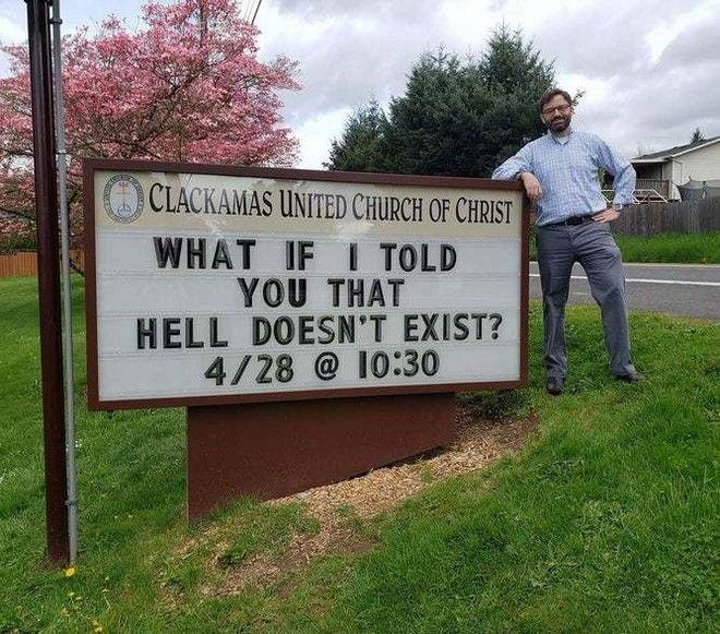 Τα μηνύματα της Clackamas United Church of Christ