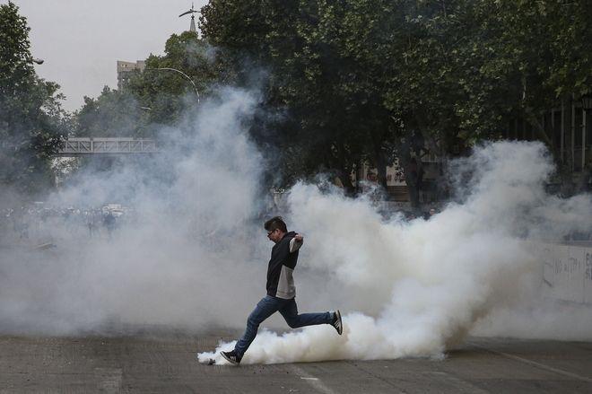 Βίαιες διαδηλώσεις στη Χιλή