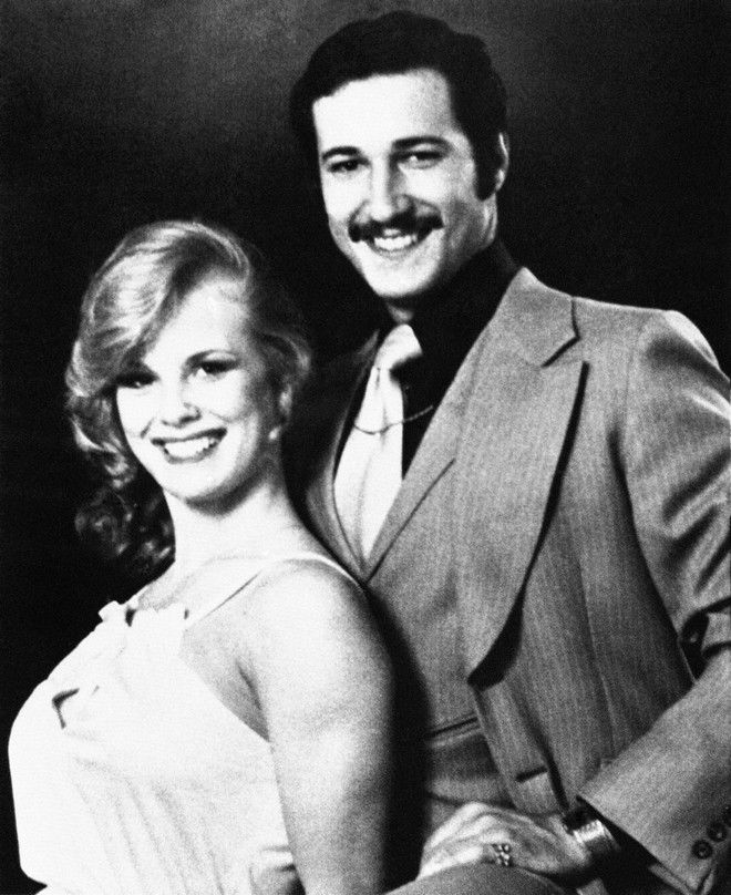 Playmate Dorothy Stratten and husband Paul Snider in 1978 wedding hoto. (AP Photo)