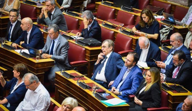 Βουλευτές της Δημοκρατικής Συμπαράταξης και του Ποταμιού