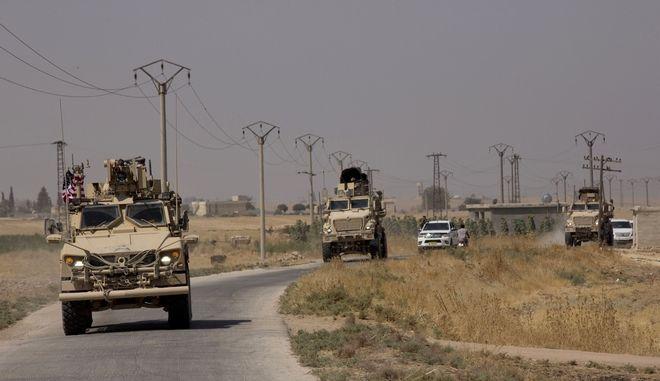 Τουρκικός στρατός στη Συρία (φωτογραφία αρχείου)